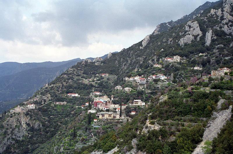 Schitul Sfanta Ana - Muntele Athos