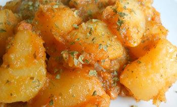 Cartofi cu migdale