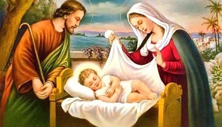 Sfanta Familie nu are nimic in comun cu Nasterea Domnului