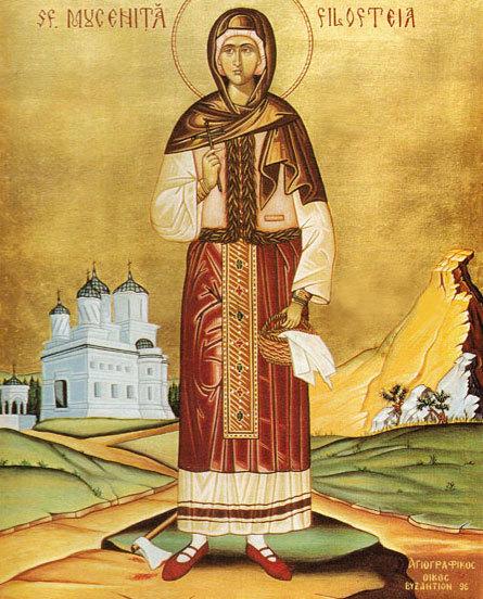 Sfanta Filofteia
