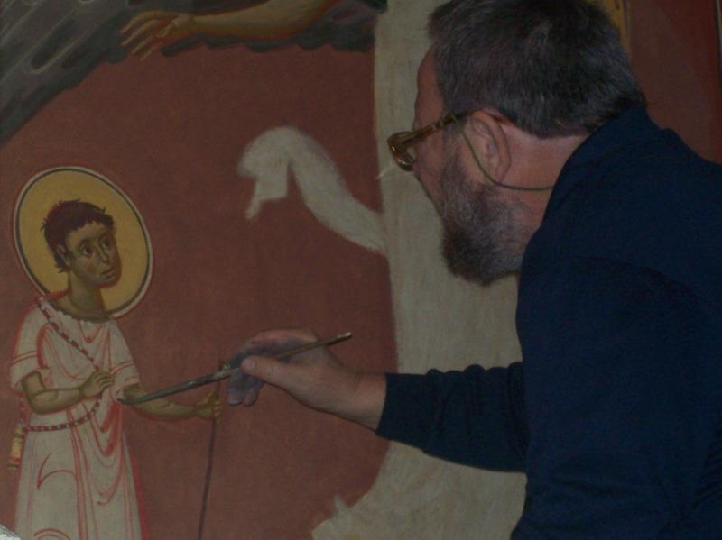 Pictorul Grigore Popescu