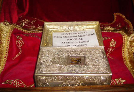 Moastele Sfantului Ierarh Nicolae