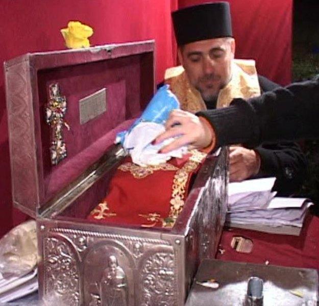 Moastele Sfantului Mina - Bucuresti