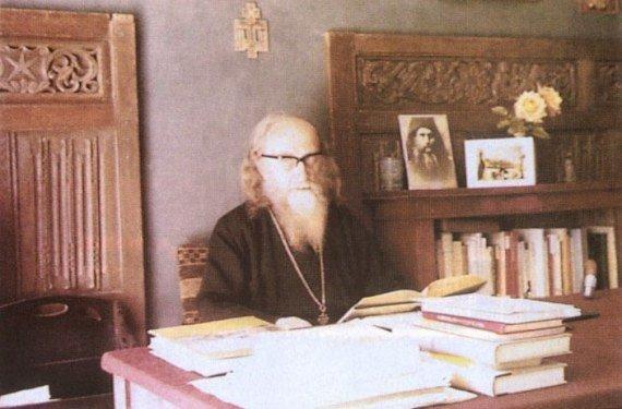 Parintele Sofronie de la Manastirea Essex