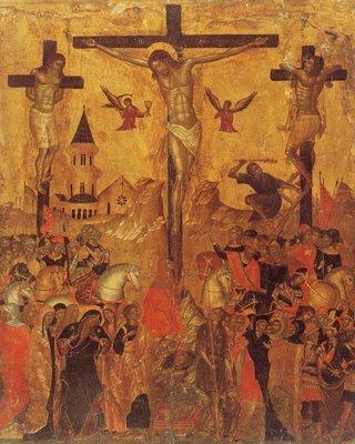 Crucea, chipul in care Hristos isi imbratiseaza in Iubire creatia