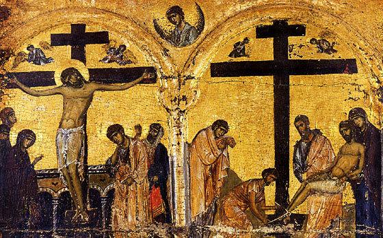 Diferenta dintre Crucea Mantuitorului si crucea noastra