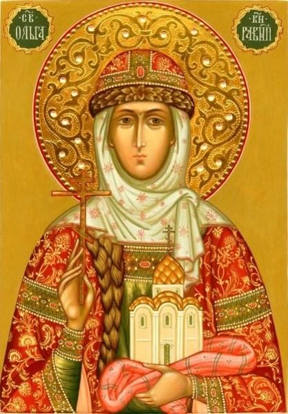 Acatistul Sfintei Olga, imparateasa Rusiei