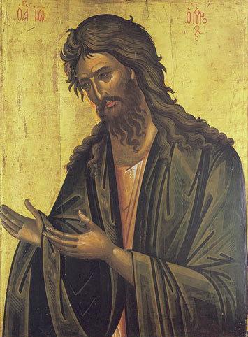 Sfantul Ioan Botezatorul  - model de sfintenie si demnitate umana