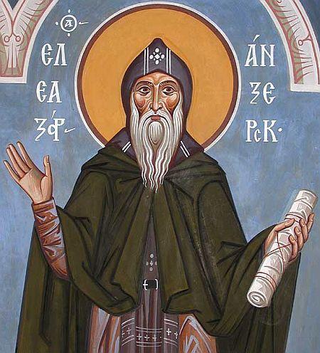 Sfantul Eleazar din Anzersk - Solovki