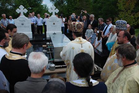 Reinhumarea parintelui Arhimandrit Mitrofor Dr. Vasile Vasilache