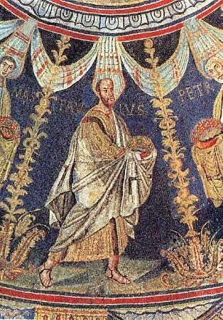 Mozaic Sfintii Petru si Pavel