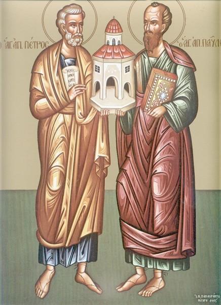 Sfintii Petru si Pavel, Apostolii care si-au rascumparat trecutul