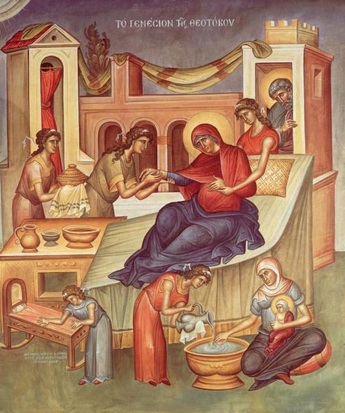 Miezul din cununa sfintilor - Nasterea Maicii Domnului