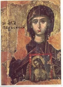 Sfanta Cuvioasa Parascheva - de la spiritualitatea ortodoxa la folclor