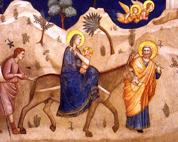 Fuga lui Iisus din propria tara