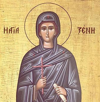 Viata Sfintei Xenia
