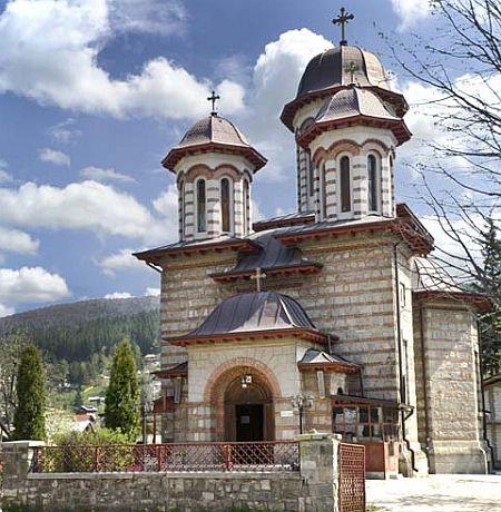 Biserica Sfintii Constantin si Elena - Poiana Tapului
