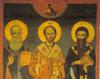 Icoana Sfintilor Trei Ierarhi de la Schitul...