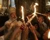 Ritul Luminii Sfinte asa cum este celebrat astazi la Ierusalim