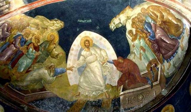 Icoana Invierii Domnului sau despre Crucea Pastelui
