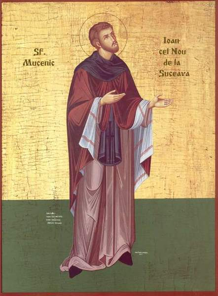 Viata Sfantului Ioan cel Nou de la Suceava