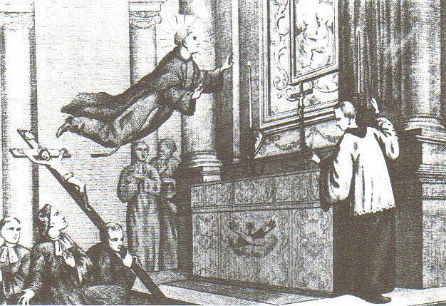 Levitatia, intre sfintenie si vrajitorie!