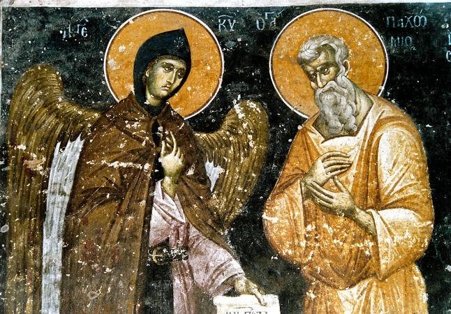 Acatistul Sfantului Pahomie cel Mare