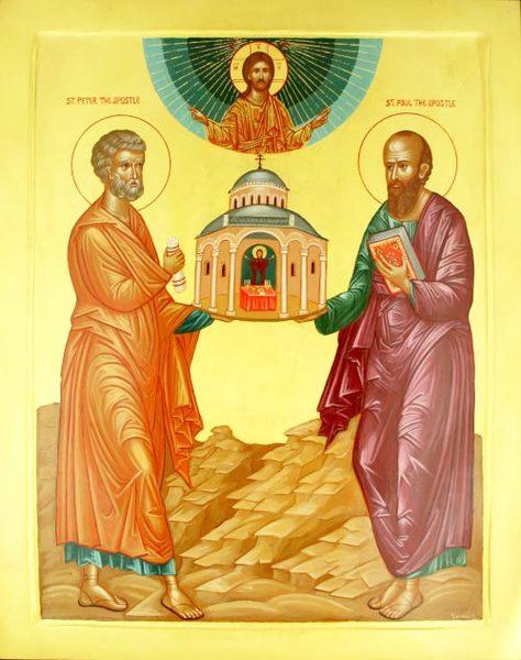 In temnita, sub ocrotirea Sfintilor Petru si Pavel