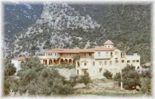 Manastirea Sfanta Irina din Hrisovalant - Evia