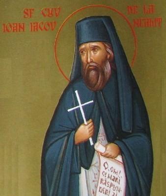 Viata Sfantului Ioan Iacob de la Neamt