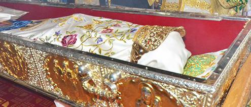 Coroanele Sfintei Parascheva