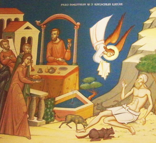 Duminica bogatului nemilostiv si a saracului Lazar