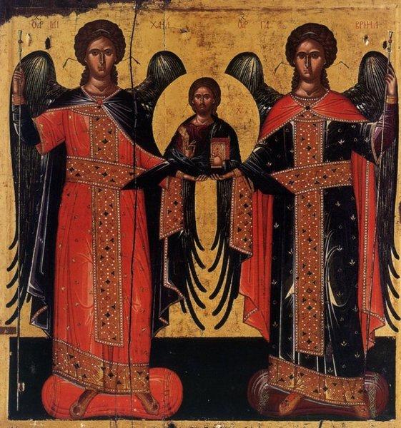 Sfintii Mihail si Gavriil: dreptatea si bunatatea