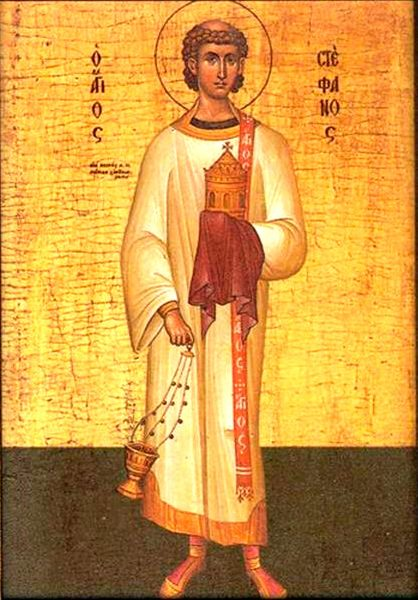 Ziua Sfantului Arhidiacon Stefan
