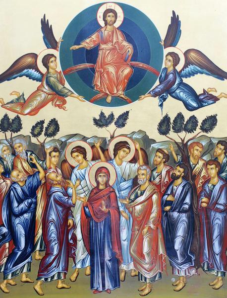 Inaltarea Domnului, inaltarea firii omenesti
