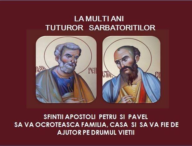 Traditia Sfintilor Apostoli Petru si Pavel