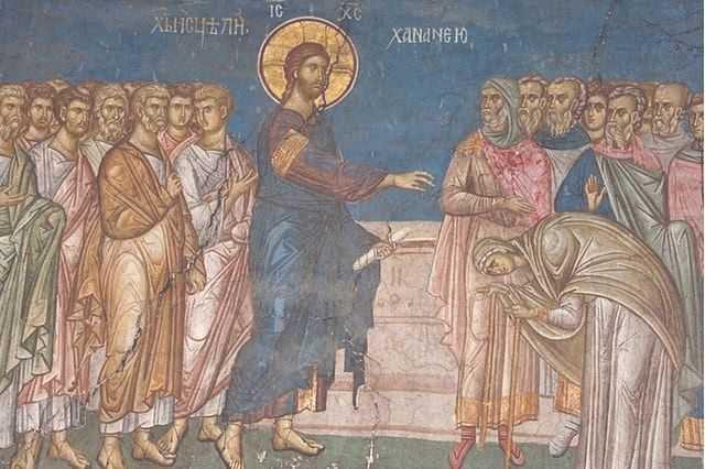 Predica la duminica vindecarii femeii garbove