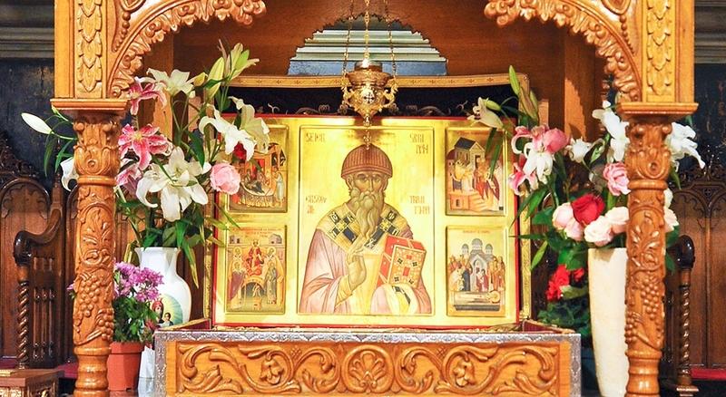 Moastele Sfantului Spiridon