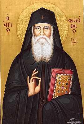 Cuvinte de invatatura ale parintelui Filoteu din Paros
