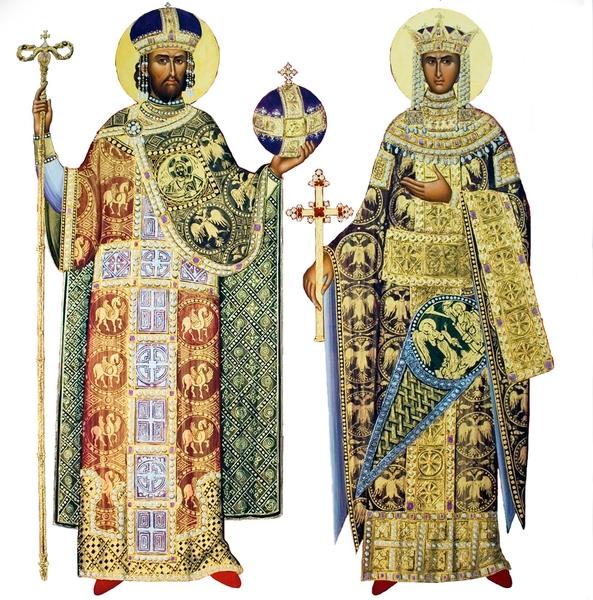 Imagini pentru sfintii constantin si elena