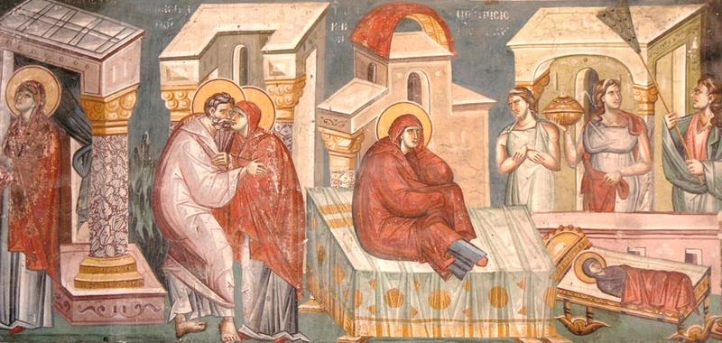 Nasterea Maicii Domnului, prima sarbatoare cu cruce rosie din anul bisericesc
