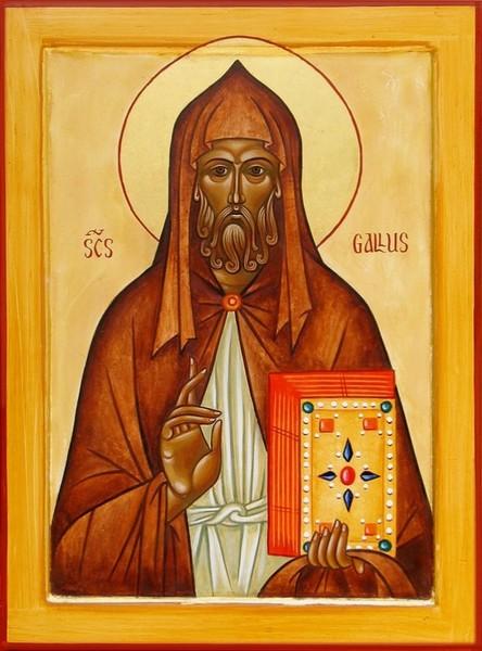 Sfantul Gall, Apostolul Elvetiei