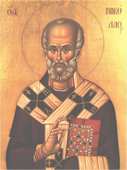 Sfantul Ierarh Nicolae, arhiepiscopul Mirei Lichiei