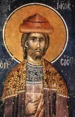 Sfantul Mucenic Iacob Persul; Sfintii Cuviosi Natanael si Pinufrie