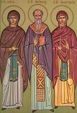 Sfanta Mucenita Anastasia Romana; Sfantul Cuviosul Avramie
