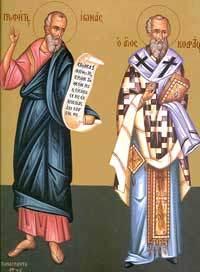 Sfantul Apostol Codrat; Sfantul Prooroc Iona
