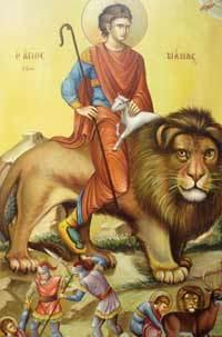 Sfantul Mucenic Mamant; Sfantul Ioan Postitorul, Patriarhul Constantinopolului