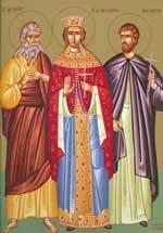 Sfantul Prooroc Agheu; Sfantul Mucenic Marin; Sfanta Teofana