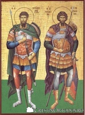 Sf. Teodor Stratilat si Teodor Tiron