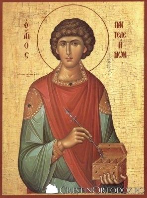 Sf. Mucenic si Tamaduitor Pantelimon